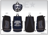 Thunder Mountain Wrestling Club Bag