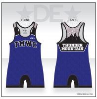 Thunder Mountain Blue Singlet
