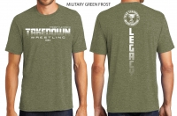 Team Takedown Legacy Tri-Blend T-Shirt - Military Green Frost