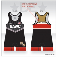 Broken Arrow Red Banded Singlet