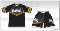 Broken Arrow Rash Guard and Fight Shorts