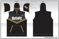 Broken Arrow Fully Sublimated Sleeveless Hoodie