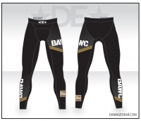 Broken Arrow Black Spandex Pants