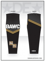 Broken Arrow Black Sublimated Knee Sleeve