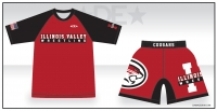 Illinois Valley Rash Guard and Fight Shorts