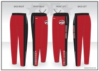 Illinois Valley Red Warmup Pants