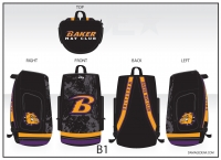 Baker Mat Club Sublimated Bag