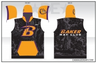 Baker Mat Club Sublimated Sleeveless Hoodie