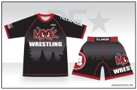 Mook Wrestling Sub Shirt and Fight Shorts