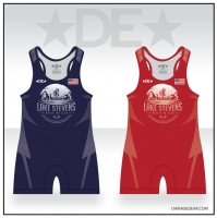 Lake Stevens Wrestling Club Red and Blue Singlet Pack