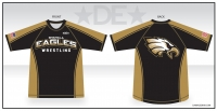 Shahala Eagles Wrestling Rash Guard