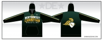NWC Crusaders Wrestling Sublimated Hoodie