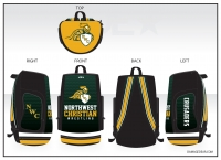 Northwest Christian Crusaders Wrestling Bag