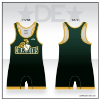 Northwest Christian Crusaders Wrestling Singlet