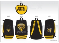 Pullman Hornets Sublimated Bag