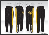 Pullman Hornets Warm Up Pants
