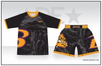 Baker Mat Club Rash Guard and Fight Shorts