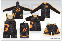 Baker Mat Club Rash Guard Gold Package