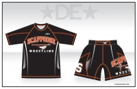 Scappoose Rash Guard and Fight Shorts
