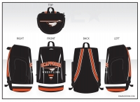 Scappoose Wrestling Sublimated Bag