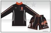 Scappoose 1/4 Zip and Fight Shorts