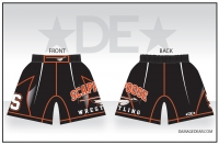 Scappoose Wrestling Fight Shorts