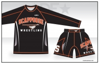 Scappoose LS Sub Shirt and Fight Shorts