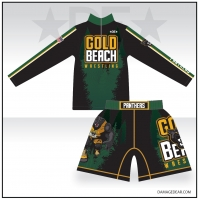 Gold Beach 1/4-Zip and Fight Shorts