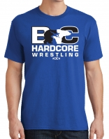Hardcore Wrestling Tee - Royal