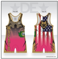 Wapato Wrestling Club Pink Singlet