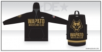 Wapato Wrestling Club Hoodie and Bag