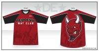 Red Devil Mat Rash Guard