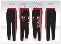 Red Devil Mat Club Warmup Pants