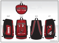 Red Devil Mat Club Sublimated Bag