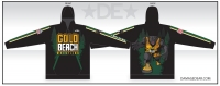 Gold Beach Wrestling Sublimated Hoodie