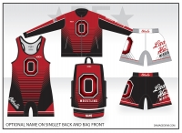Othello Lady Huskies Double Shorts Team Package