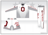Othello Lady Huskies Deluxe White Warmup Package