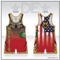 Wapato Wrestling Club Red Singlet