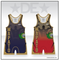 Wapato Blue and Red Singlet Pack
