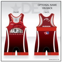 Anacortes Red Freestyle Singlet