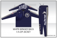 Arlington Eagles White-Winged Back Warmup Pack