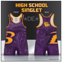 Baker High School Singlet