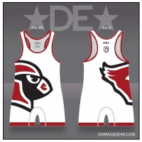 Lincoln Cardinals White Singlet