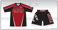 Lincoln Cardinals Sub Shirt and Fight Shorts