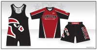 Lincoln Cardinals Black Singlet Pack