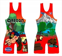 Red Original Logger 2014 National Team Singlet