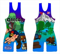 BLUE Original LOGGER 2014 National Team Singlet