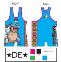 Blue 2014 TEAM OREGON SINGLET