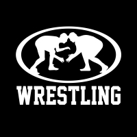 Wrestling Vinyl Window Sticker