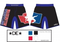 Washington Wrestling Fight Shorts